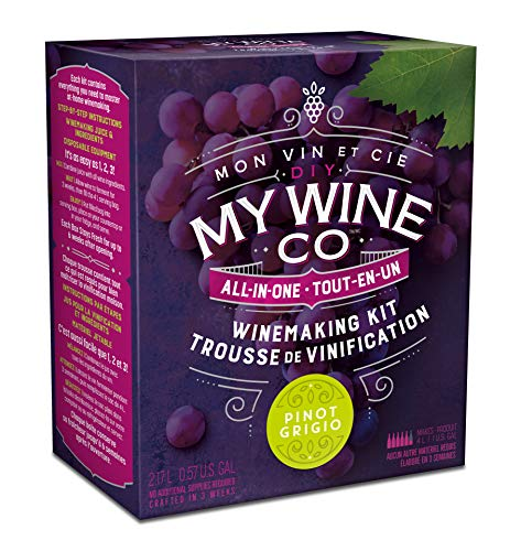 DIY MY WINE CO. All-In-One Pinot Grigio Winemaking Kit
