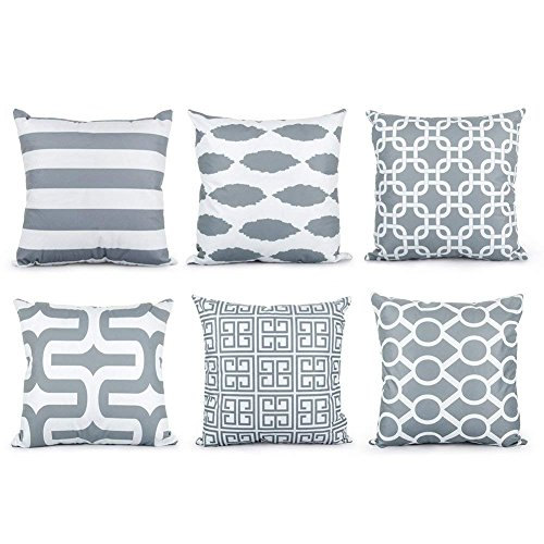 Our #6 Pick is the Top Finel Decorative Throw Pillow Covers