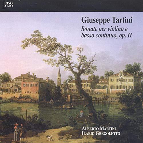 Tartini: 12 Violin Sonatas, Op. 2 (Le Cène 1743) Sei sonate per violino e basso continuo