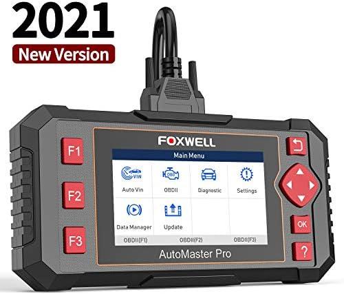 FOXWELL Car Scanner NT604 Elite OBD2 Scanner ABS SRS Transmission Check Engine Code Reader 2021 product image