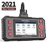 FOXWELL Car Scanner NT604 Elite OBD2 Scanner ABS SRS Transmission, Check Engine Code Reader,[2021 New Version] SRS Airbag Scanner,Car Diagnostic Scanner for Cars