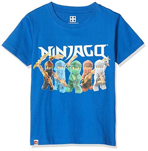 LEGO Jungen cm Ninjago T-Shirt, Blau (Dark Blue 575), (Herstellergröße: 146)