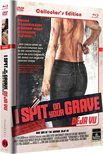 I Spit on Your Grave - Deja Vu - Mediabook Unrated Fassung Cover C - DVD - Blu-ray
