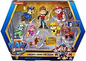 PAW PATROL-Paw FGR FgGftPk LibertyMovie INTL GML Liberty Joins The Team-Confezione Regalo con Figura Esclusiva da...