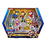 PAW Patrol Liberty Joins the Team 8 Figure Movie Gift Pack with Exclusive Collectible Figure, Kids' Toys for Ages 3 and Up