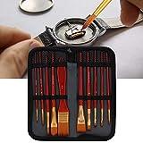 Meiyya Cepillos antiestáticos 10Pcs / Set Cepillo de Mantenimiento Suave para Relojes Cepillo para Relojes, Cepillo de Limpieza para Relojes, Fibra de Vidrio para Quitar el Polvo del Teclado