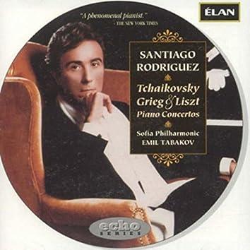 Tchaikovsky, Grieg, and Liszt Piano Concertos