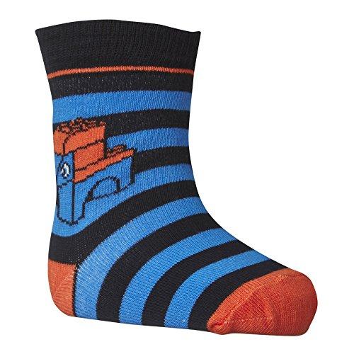 LEGO Wear Jungen Socken duplo ASKE 701 2er Pack, Gr. 19 (Herstellergröße: 19/21), Blau (MEDIUM BLUE 554)