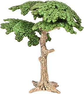 Yapthes 2 PCS Miniature Fairy Garden Tree Plant Miniature Dollhouse Micro Landscape DIY Craft Garden Decoration Interesting Toy