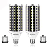 DragonLight Bombillas LED superbrillantes de 50 W (equivalente a 400 W) – 3000 K blanco cálido...