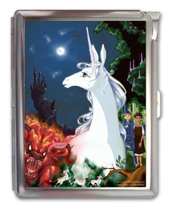 The Last Unicorn Anime Cigarette Case Lighter or Wallet Business Card Holder