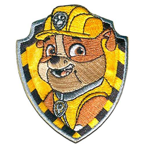 Parches - Patrulla Canina 'Rubble' - amarillo - 7x6cm