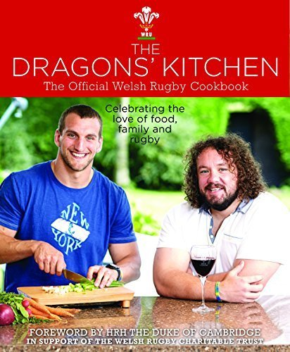 The Dragon's Kitchen by Various Welsh Rugby Players (2014-11-08)