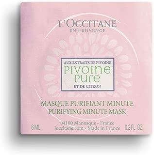 L'Occitane Peony Purifying Minute Mask