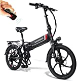Folding Electric Bicycle 20 Inch Bike with 350W...