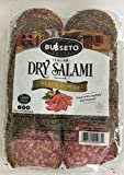 16oz Busseto Italian Dry Salami Black Pepper Coated, Sliced, Gluten Free, Pack of 1