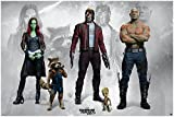 Guardians of the Galaxy Vol. 2 Poster Guardians (91,5cm x