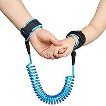 Azul Compras etc Diealles 2.5M Baby Child Anti Pierde la Conexi/ón de Mu/ñeca Seguridad 360 /° Respirable Velcro Pulsera para Caminar Beb/é Anti-lost Cintur/ón Arn/és de Seguridad
