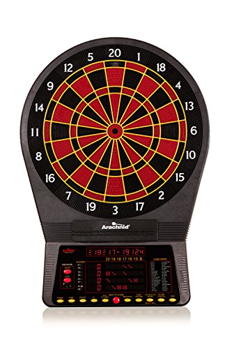 Arachnid Cricket Pro 800 Electronic Dartboard with NylonTough Segments for Improved Durability and...
