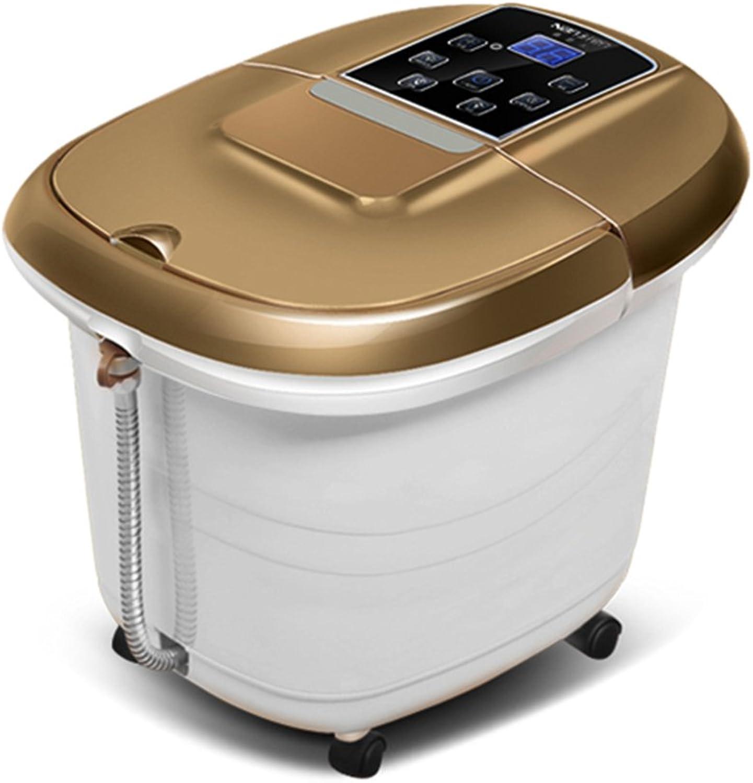 LHA Heizung Einweichen Fu Self-Service-Massage Elektrisches Fubad Thermostatisches Fubad Deep Barrel Foot Washing
