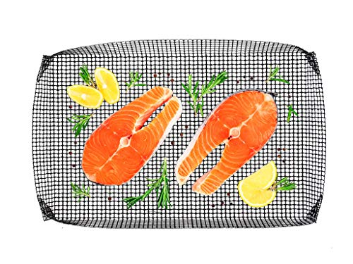 MUURIKKA Antihaft Grill- und Räucherkorb, Grillschale, Lightweight, Wiederverwendbar für Räucheröfen und Grillen
