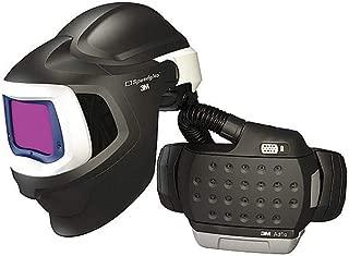 3M Adflo Belt-Mounted Universal Lithium Ion High Efficiency PAPR System With Speedglas 9100 MP Welding Helmet, 5, 8 - 13 Shade 2.8