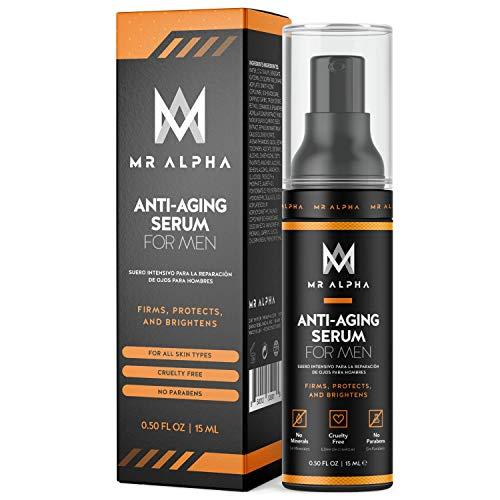 Anti Aging Serum With Collagen And Retinol, 15ml - Men