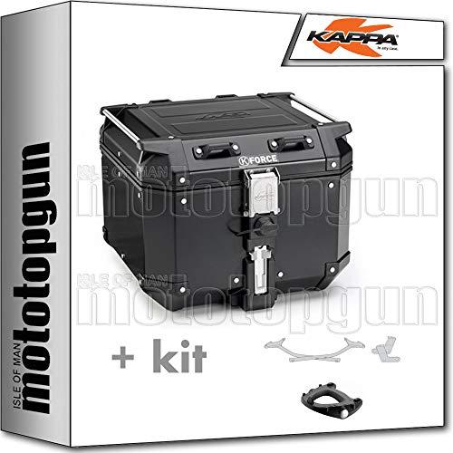 kappa maleta kfr420a k'force 42 lt + portaequipaje monokey compatible con yamaha mt 07 mt07 tracer 2019 19