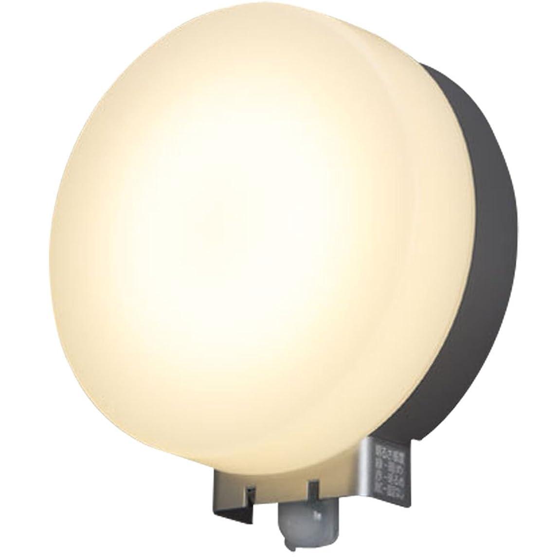 二ピッチャーピッチャーアイリスオーヤマ LEDポーチ灯 人感センサー付き シルバー 電気工事必要 IRBR5N-CIPLS-MSBS-P