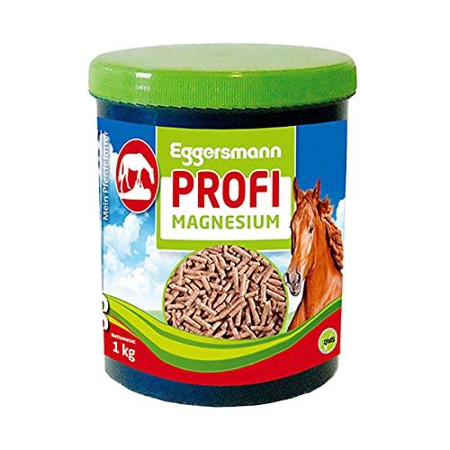 Eggersmann Profi Magnesium - Aliment complémentaire pour Chevaux - pour la d'une Musculature Souple - 1 kg