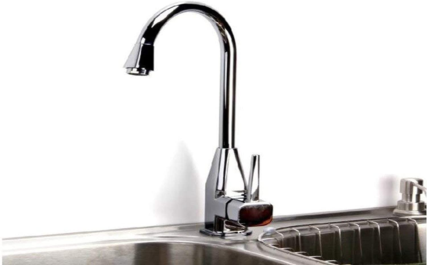 MONFS HOME Hot and cold faucets in the kitchen, all copper can be redated