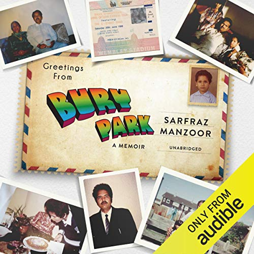 Greetings from Bury Park audiobook cover art