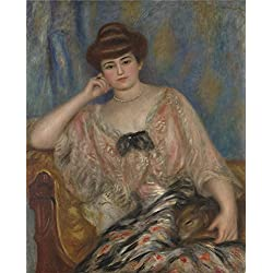 The Polyster Canvas Of Oil Painting 'Pierre Auguste Renoir Misia Sert ' ,size: 20 X 25 Inch / 51 X 63 Cm ,this Art Decorative Canvas Prints Is Fit For Nursery Decoration And Home Decor And Gifts