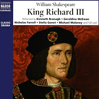 King Richard III audiobook cover art