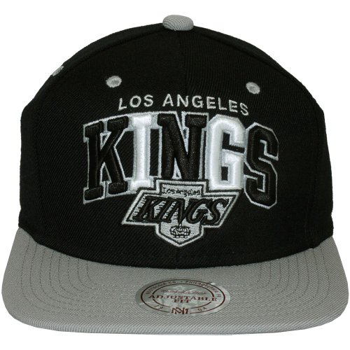 Mitchell & Ness - Casquette Snapback Homme NHL Black Tri Pop - Los Angeles Kings