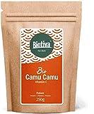 Polvo camu camu orgánico 250 g - vitamina C natural - de colección silvestre, sin aditivos,...