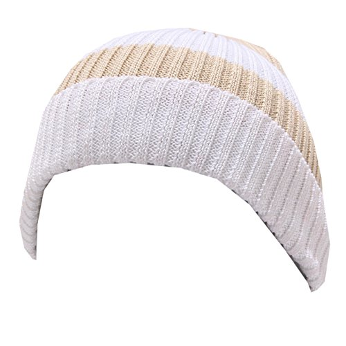 Regina by Angela Maffei 4795U cuffia bimba cotton beige/white hat kid [I/30 CM]