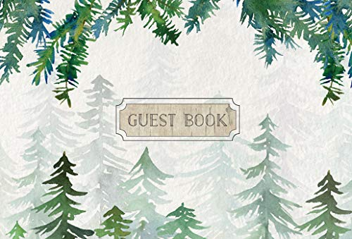 Guest Book Cabin Edition