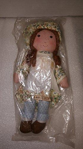 Holly Hobbie Vintage 1970's Heather 9' Plush rag Doll by Knickerbocker