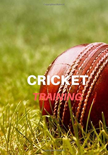 Cricket training: Cricket Journal for journaling | Notebook for cricket lovers 122 pages 7x10 inches | Gift for men and woman girls and boys| sport | logbook