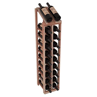 Wine Racks America Redwood 2 Column 10 Row Display Top Kit. Unstained
