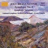 Braga Santos: Symphony No. 4 / Symphonic Variations