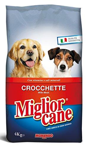 MIGLIOR CANE Set 4 4 kg. Secco Crocchette Manzo Cibo per Animali