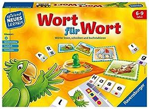 """Frecher Drehspaß zum Buchstabieren, Schreiben und Lesen lernen: Mit Wort für Wort lernen Kinder Wörter zu schreiben und können diese mit der Selbstkontrolle eigenständig überprüfen Wie wird """"Pirat"""" geschrieben? Wer legt mit den richtigen Buchstaben d..."""
