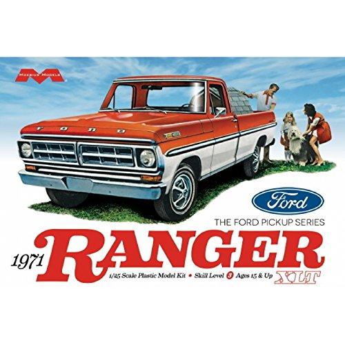 Moebius model 1:25 Scale 1971 Ford Ranger Pickup...