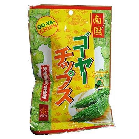 ゴーヤーチップス 42g×30袋 南風堂 沖縄粟国の塩使用 パリパリ美味しい 野菜嫌いな子供から 野菜不足を感じる大人まで ビタミンCたっぷりのゴーヤーチップス