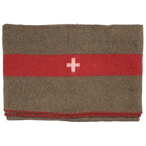 MFH Manta de lana suiza, 200 x 150 cm, para caballos, camping,...