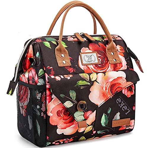 Lekesky Kühltasche Lunchtasche Damen Thermotasche für Arbeit, Ausflügen, Einkaufen, Picknick, 11 L