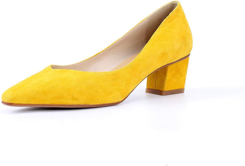 AdeeSu Womens Solid Nubuck Business Urethane Pumps shoes SDC06265