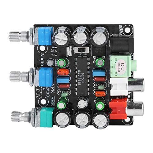 Taidda- Preamp Tone Board, robust, langlebig, leicht, tragbar, kompakt, 2-Kanal-Verstärkung Preamp Board Verbessertes HiFi-Audio-Mischpult für Verstärker